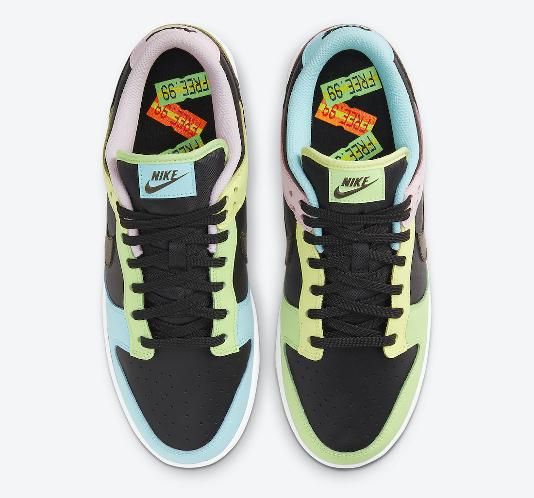 Nike Dunk Low Free 99 Black DH0952-001 Release Date Price