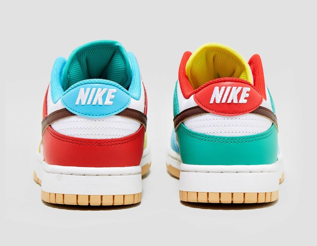 Nike Dunk Low Free 99 Pack White DH0952-100 Release Date