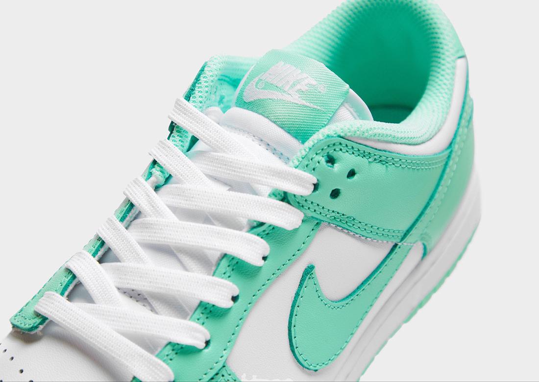Nike Dunk Low Green Glow DD1503-105 Release Date Info
