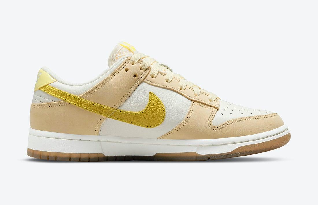 Nike Dunk Low Lemon Drop DJ6902-700 Release Date Info