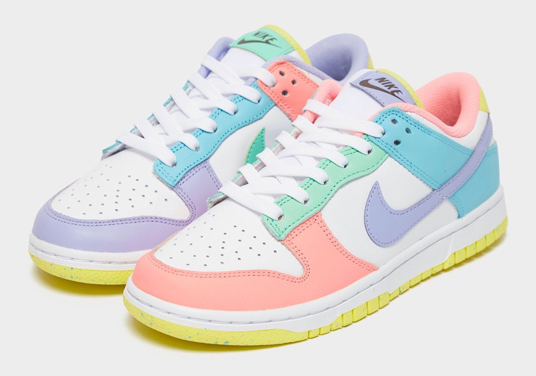 Nike Dunk Low Light Soft Pink Ghost Lime Ice White DD1503-600 Release Date Info