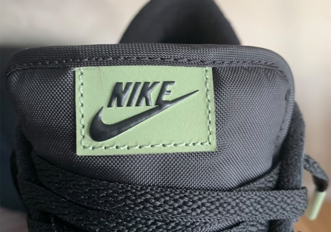 Nike Dunk Low SE Black Oil Green White Total Orange DH0957-001 Release Date Info