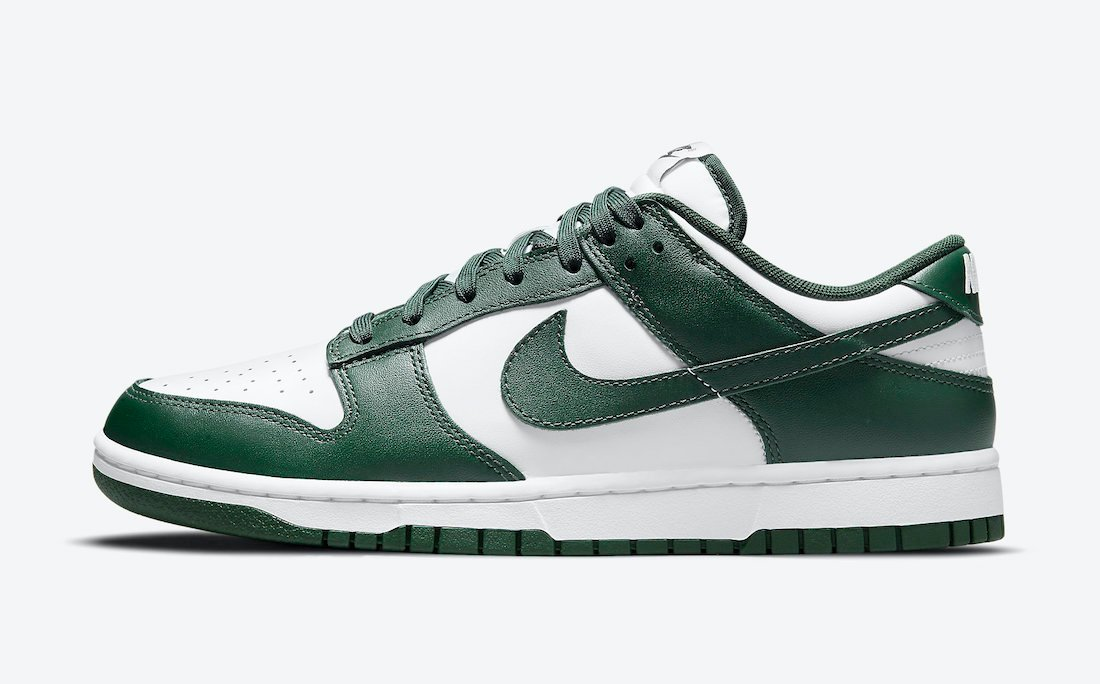 nike dunk low team green DD1391 101 release info price 1