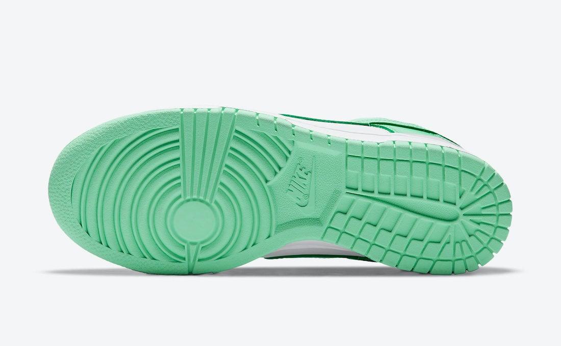 Nike Dunk Low Womens Green Glow DD1503-105 Release Date