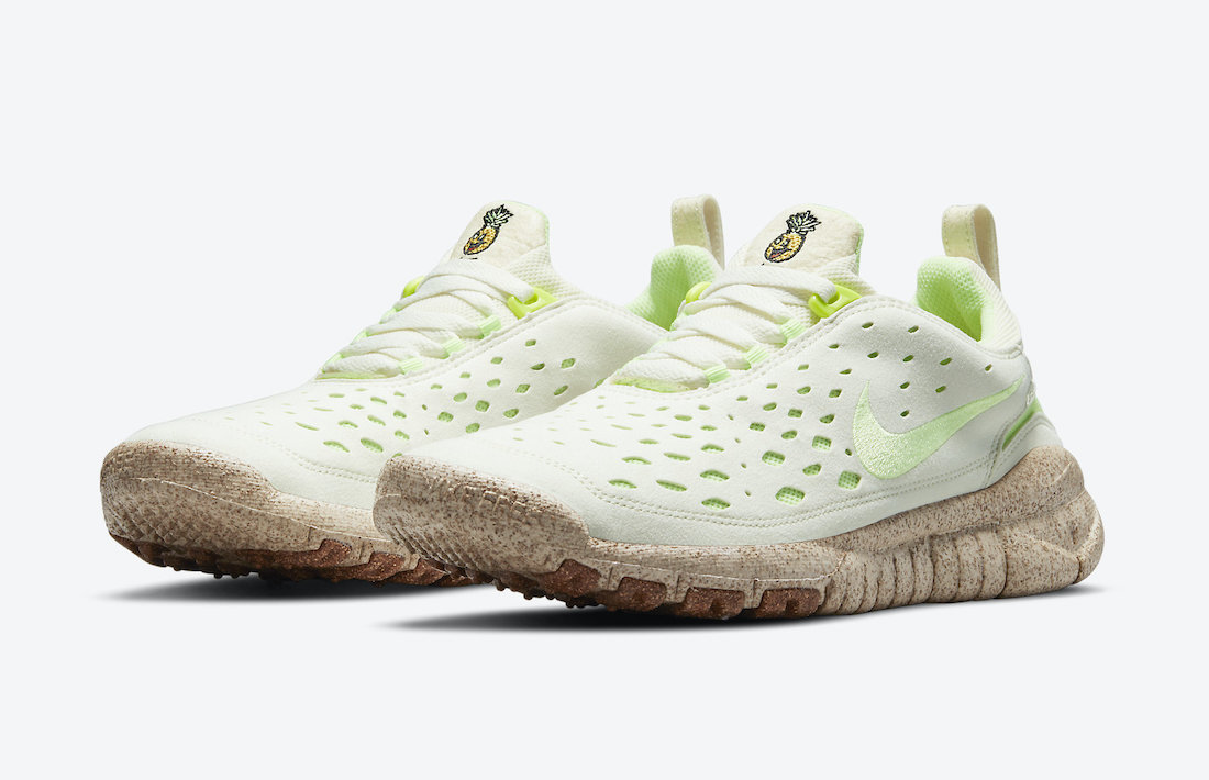 Nike Free Run Trail Happy Pineapple CZ9079-100 Release Date Info