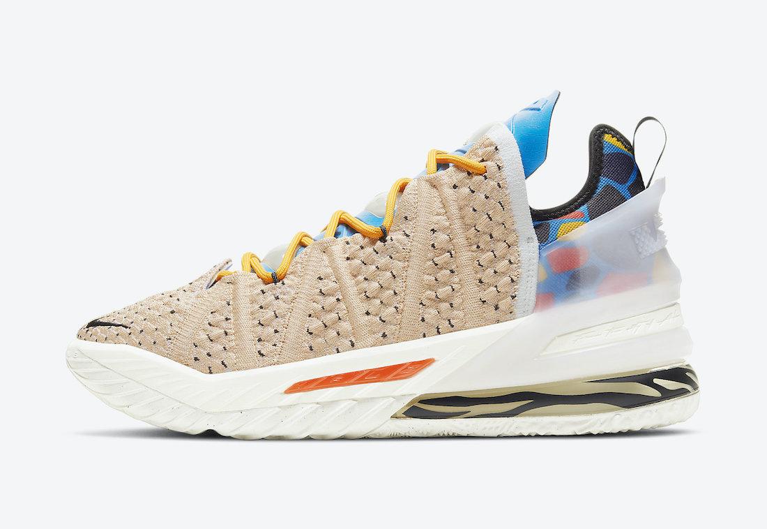 Nike LeBron 18 CW3156-900 Release Date Info