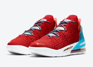 Nike LeBron 18 Gong Xi Fa Cai Chinese New Year CW3155-600 Release Date Info