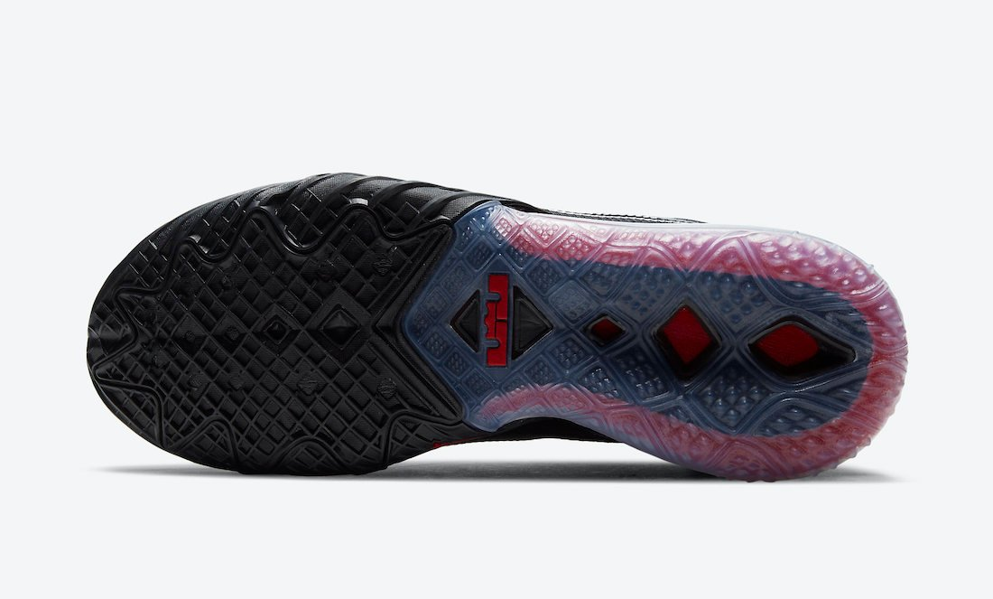 Nike LeBron 18 Low Black University Red CV7562-001 Release Date Info