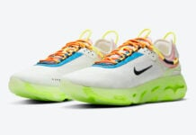 Nike React Live Barely Volt CV1772-100 Release Date Info