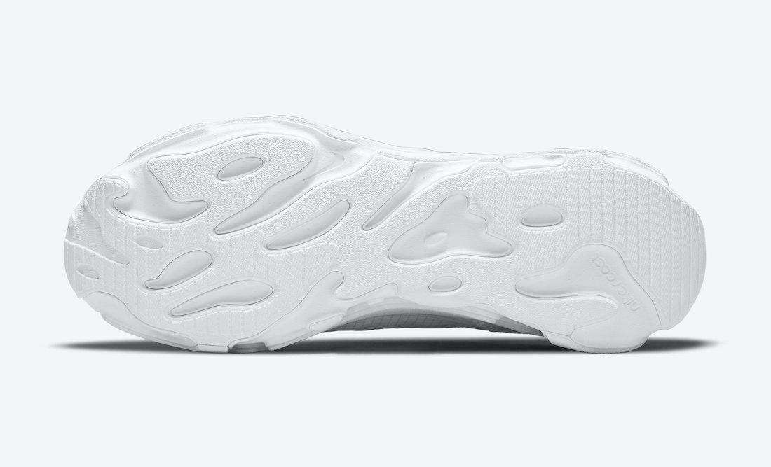 Nike React Live Triple White CV1772-101 Release Date Info