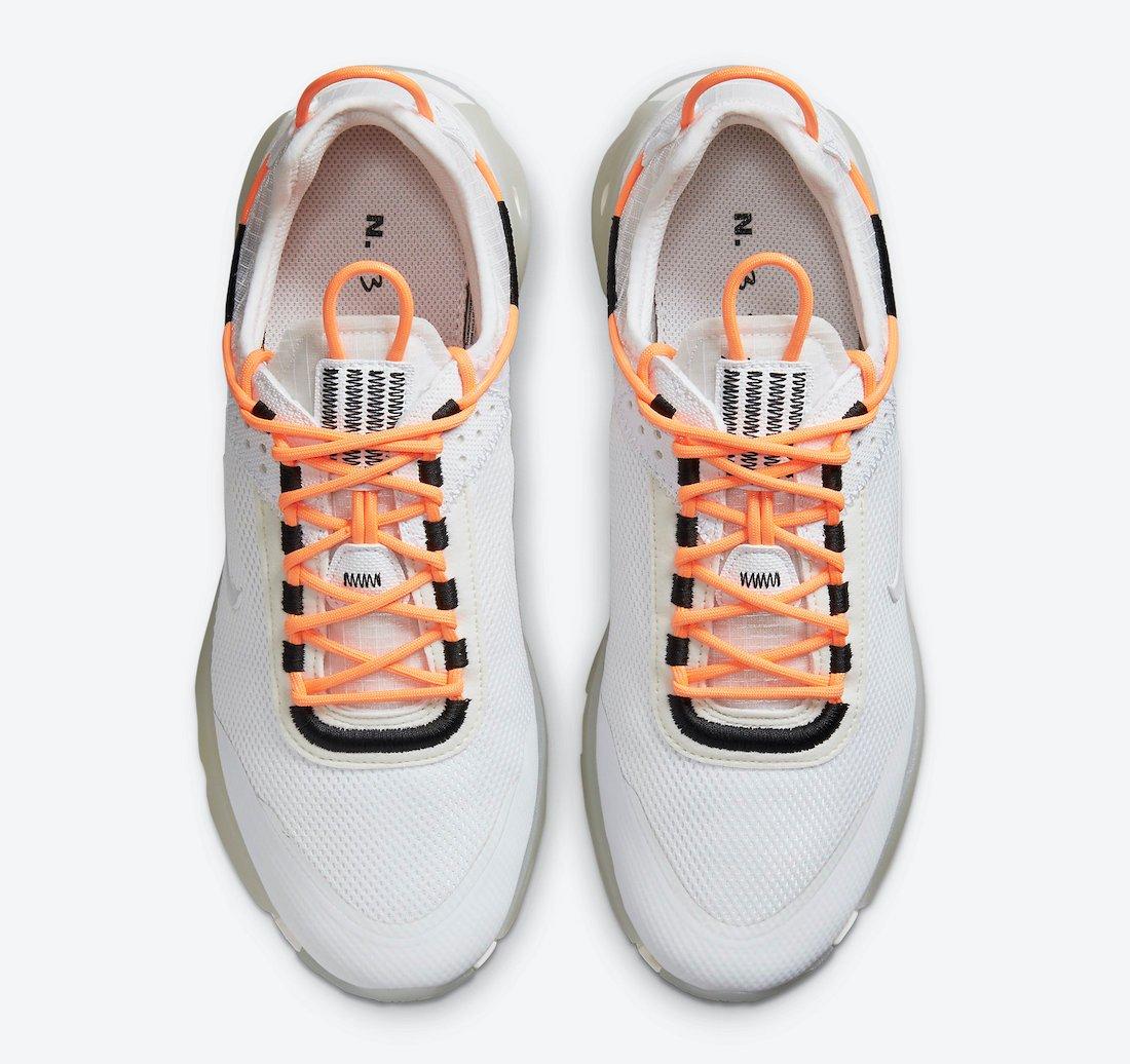 Nike React Live White Orange CV1772-102 Release Date Info