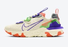 Nike React Vision Beige Multicolor CI7523-104 Release Date Info