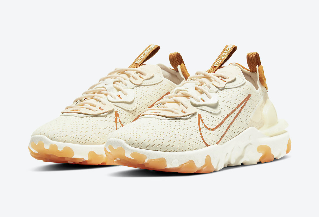 Nike React Vision Pale Ivory CI7523-103 Release Date Info