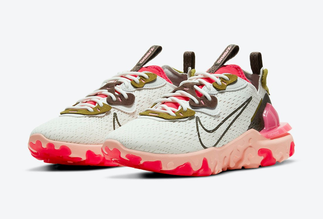 Nike React Vision Siren Red CI7523-102 Release Date Info