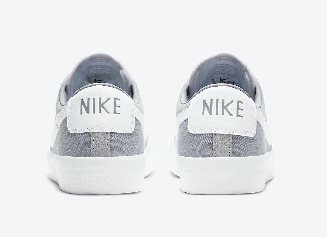 Nike SB Blazer Low GT Wolf Grey DC7695-001 Release Date Info