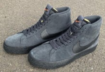 Nike SB Blazer Mid Orange Label Dark Smoke DB3027-001 Release Date Info