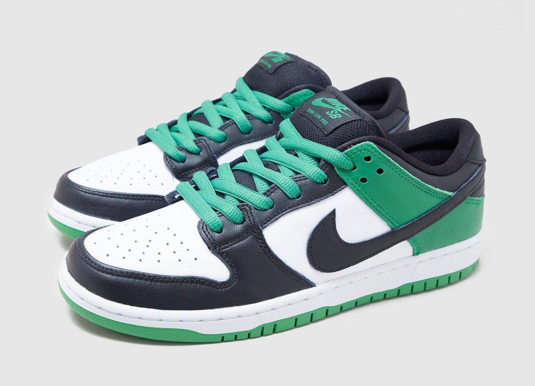 Nike SB Dunk Low Classic Green BQ6817-302 Release Info Price