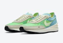 Nike Waffle One Scream Green DC2533-401 Release Date Info