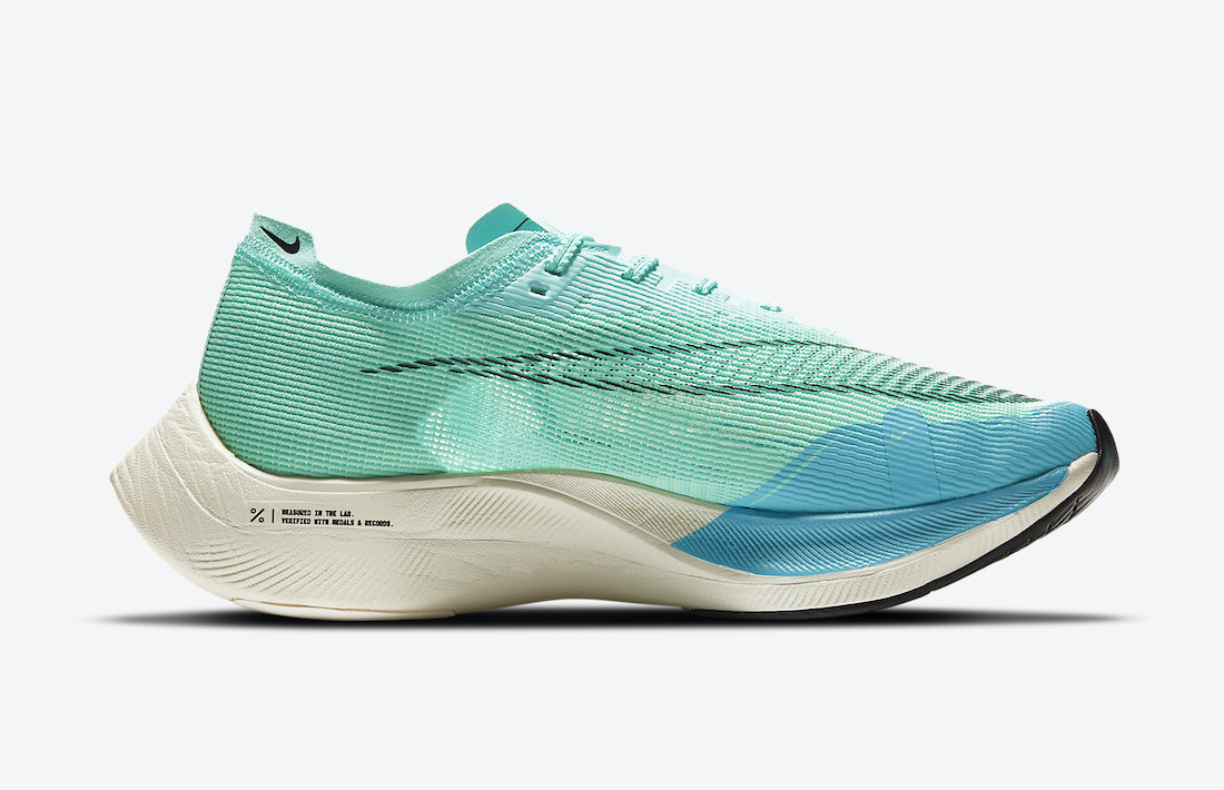 Nike ZoomX VaporFly NEXT% 2 Teal Blue CU4111-300 Release Date Info