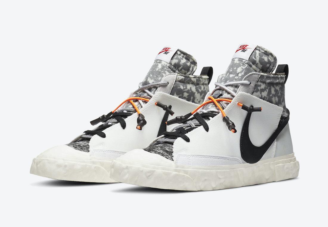 READYMADE Nike Blazer Mid CZ3589-100 Release Date