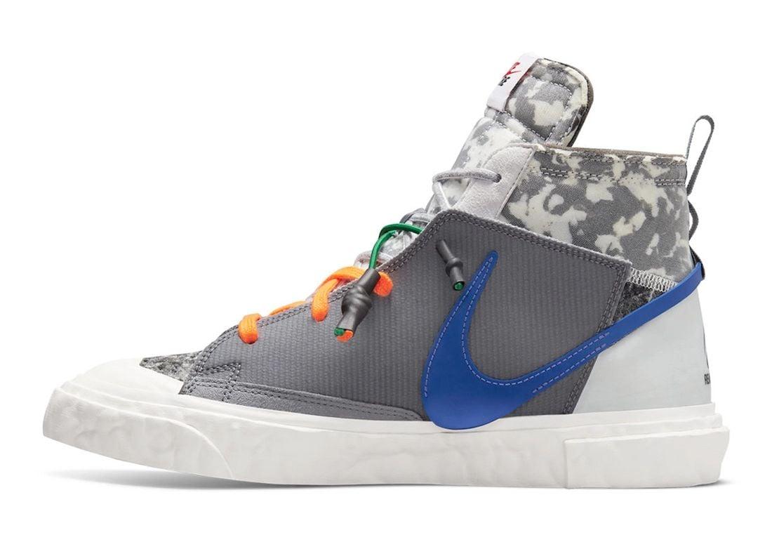 Readymade Nike Blazer Mid Grey Release Date