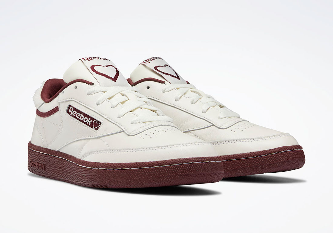 Reebok Club C 85 Valentines Day FY4138 Release Date Info