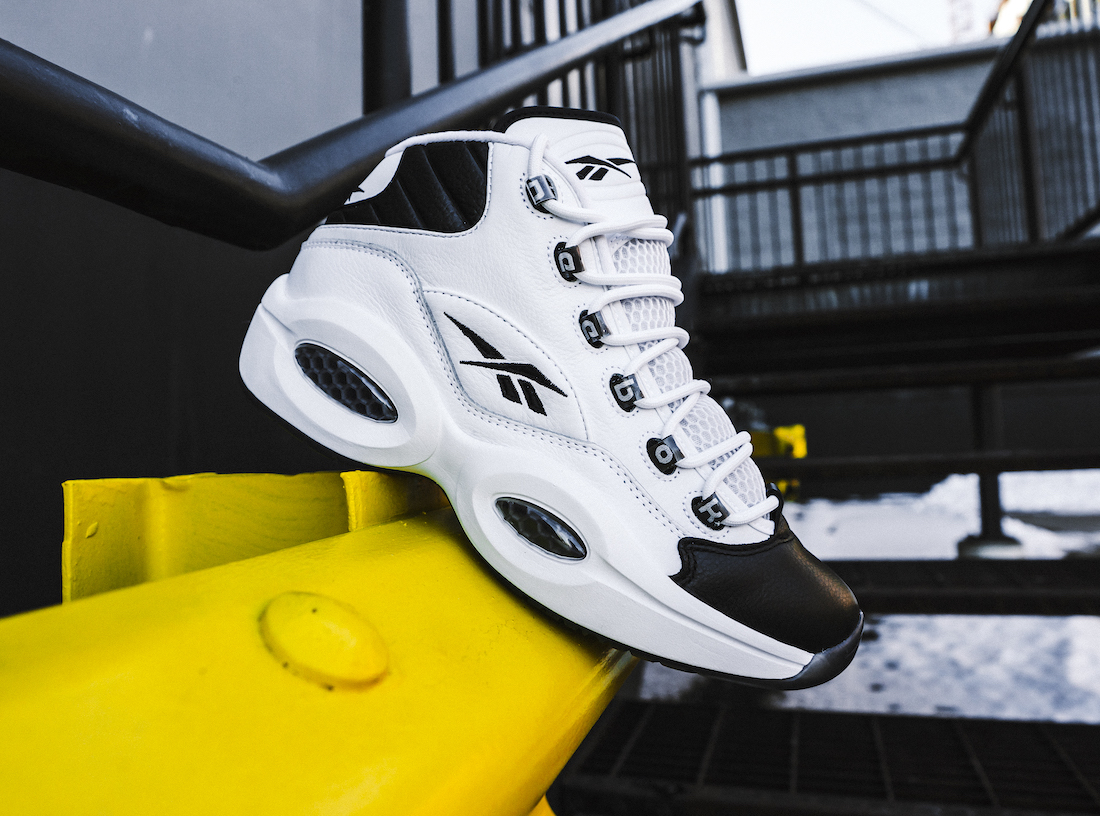 Reebok Question Mid 'Why Not Us?' Pays Tribute to Iverson's '01 MVP Comeback
