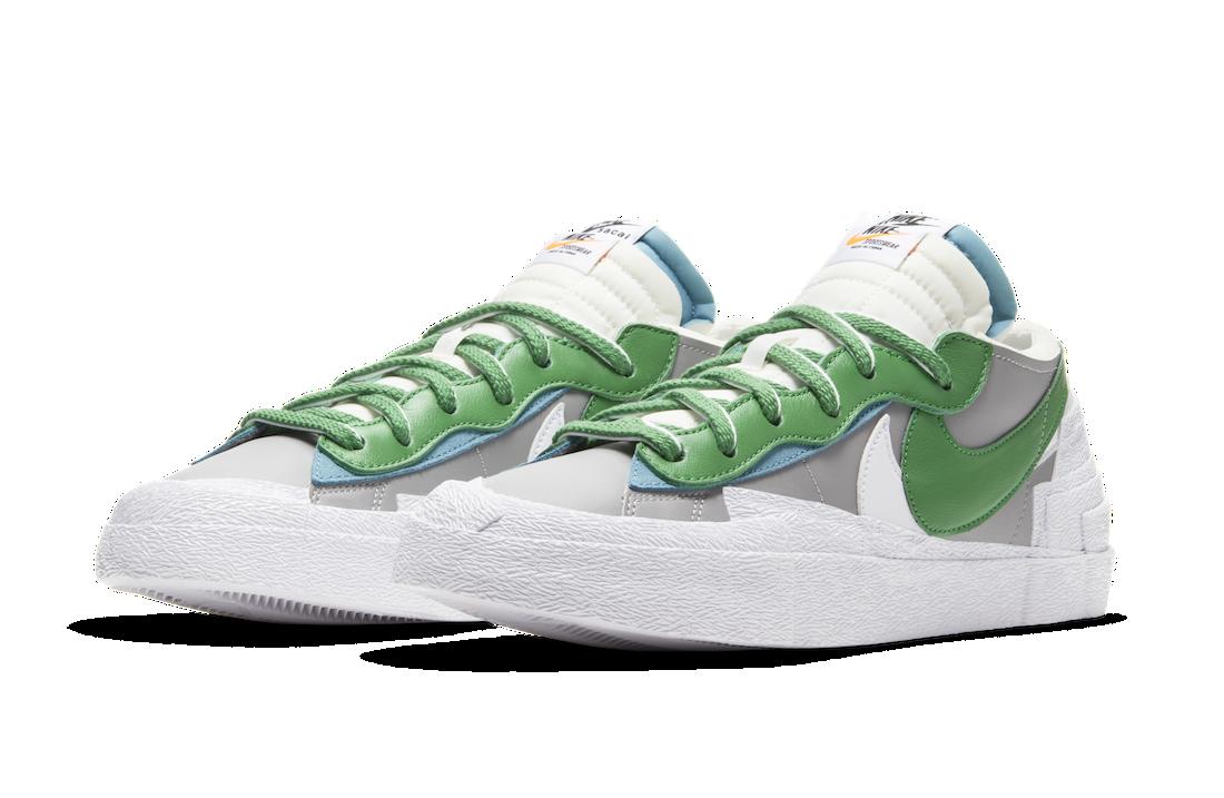 Sacai Nike Blazer Low Classic Green DD1877-001 Release Info Price