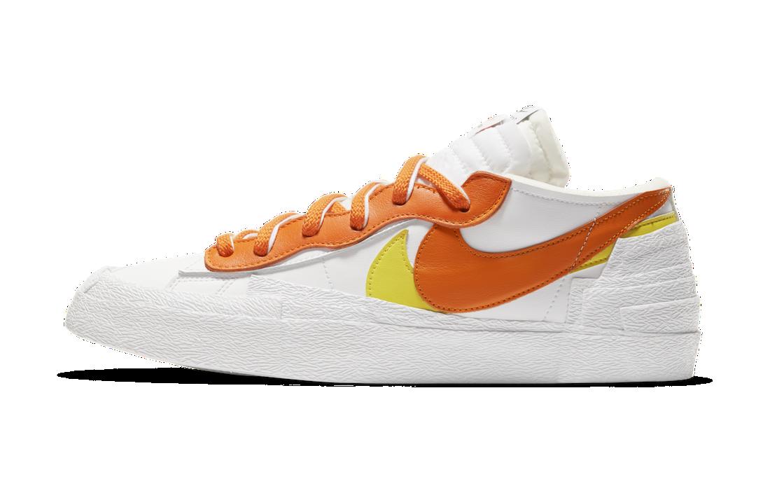 Sacai Nike Blazer Low Magma Orange DD1877-100 Release Info Price