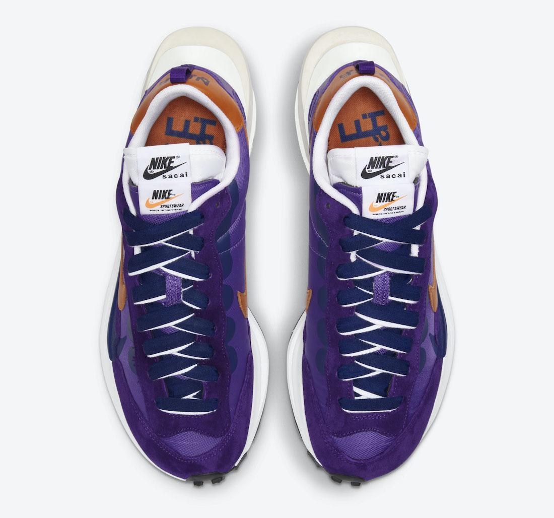 Sacai Nike VaporWaffle Dark Iris DD1875-500 Release Date