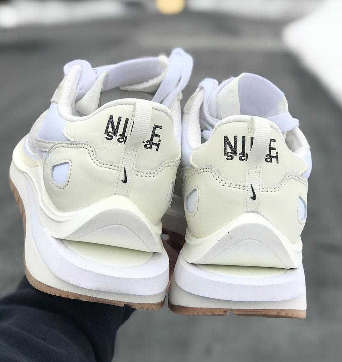 Sacai Nike VaporWaffle White Sail Gum Release Date