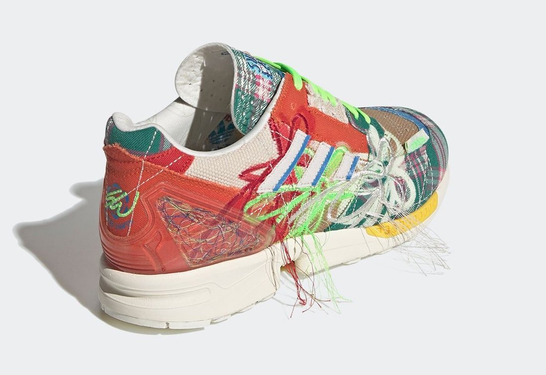 Sean Wotherspoon adidas ZX 8000 Super Earth BQ6817-401 Release Date
