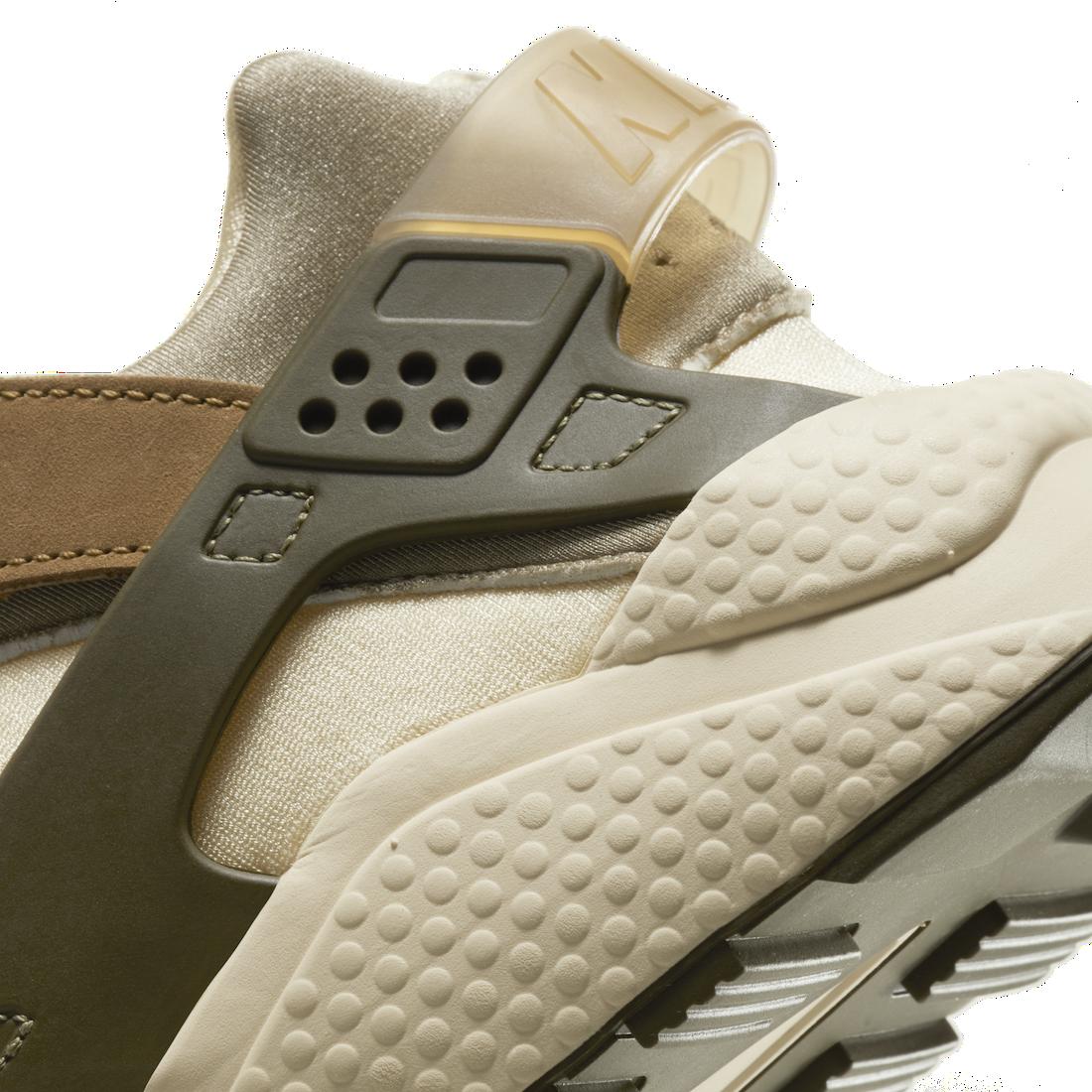 Stussy Nike Air Huarache Desert Oak DD1381-200 Release Date