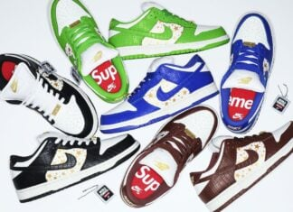 Supreme Nike SB Dunk Low