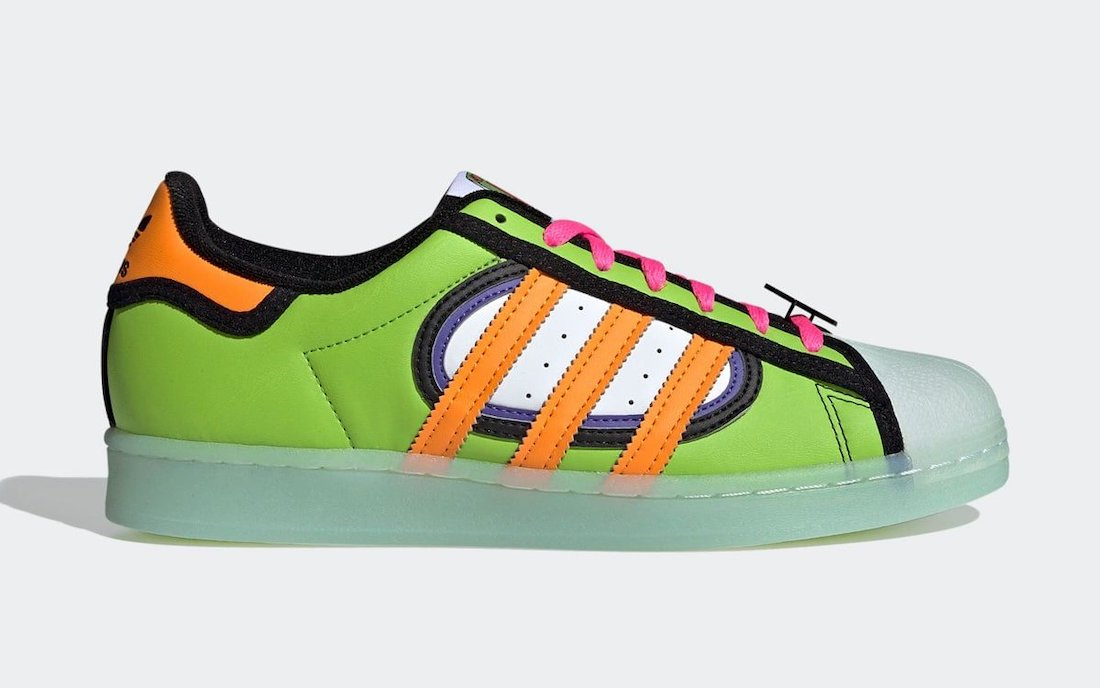 The Simpsons adidas Superstar Squishee H05789 Release Date Info