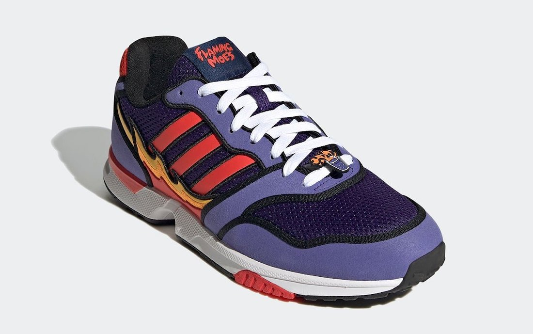 The Simpsons adidas ZX 1000 Flaming Moes H05790 Release Date Info