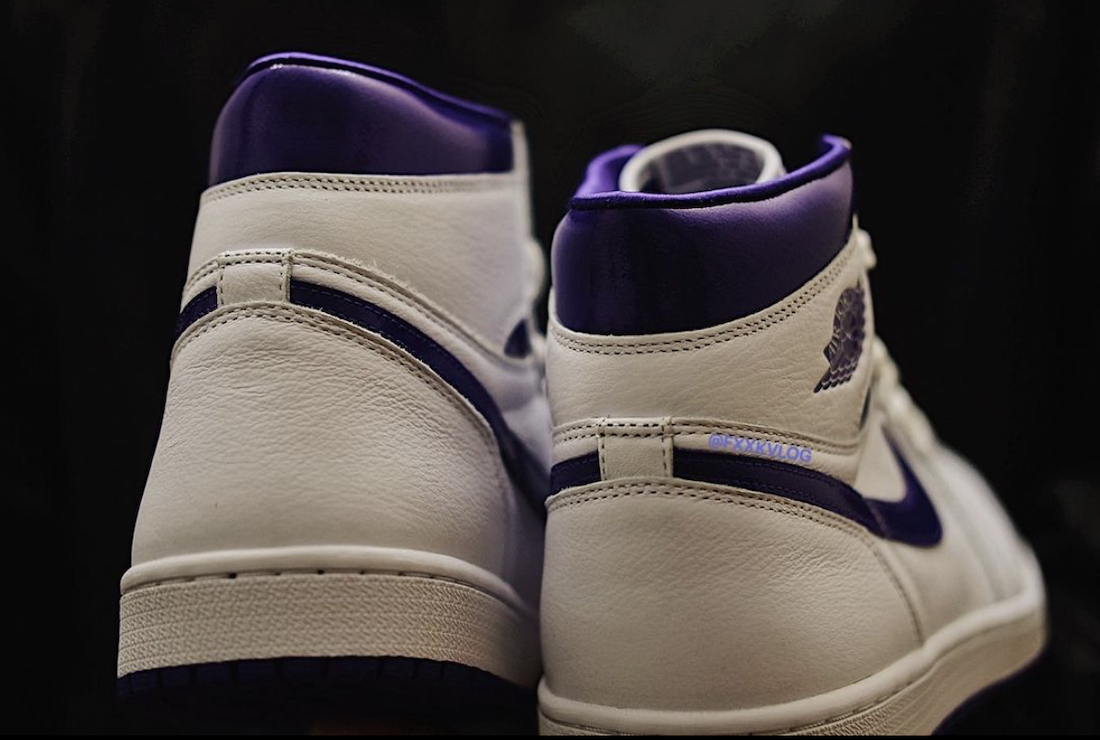 Womens Air Jordan 1 Court Purple CD0461-151 Release Date