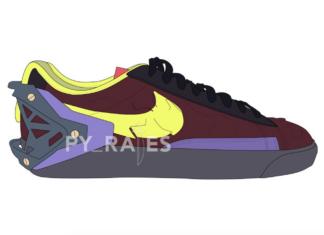 Acronym Nike Blazer Low