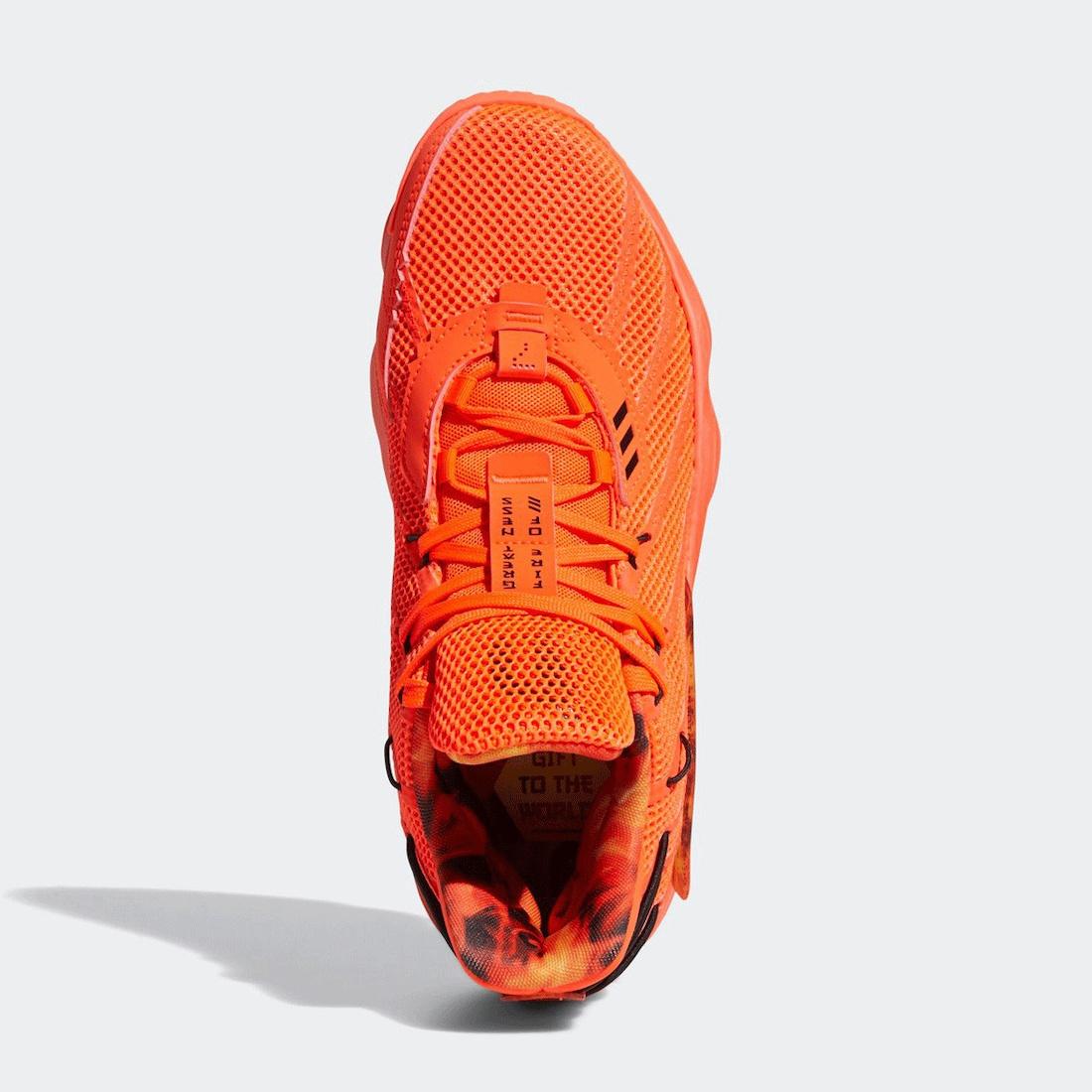 adidas Dame 7 Fire Inside FX7439 Release Date Info