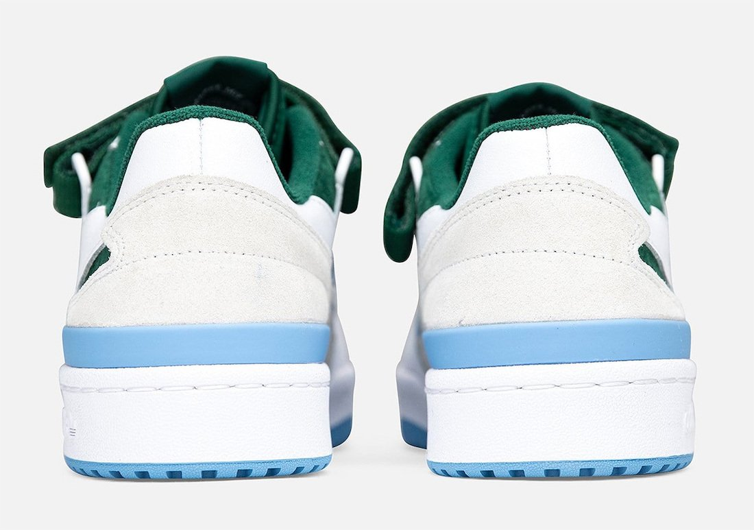 adidas Forum Low White Blue Green FY6816 Release Date Info
