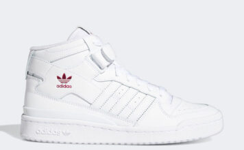 adidas Forum Mid Cloud White Shock Pink G57984 Release Date Info