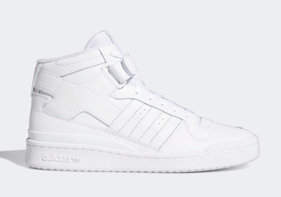 adidas Forum Mid Triple White FY4975 Release Date Info