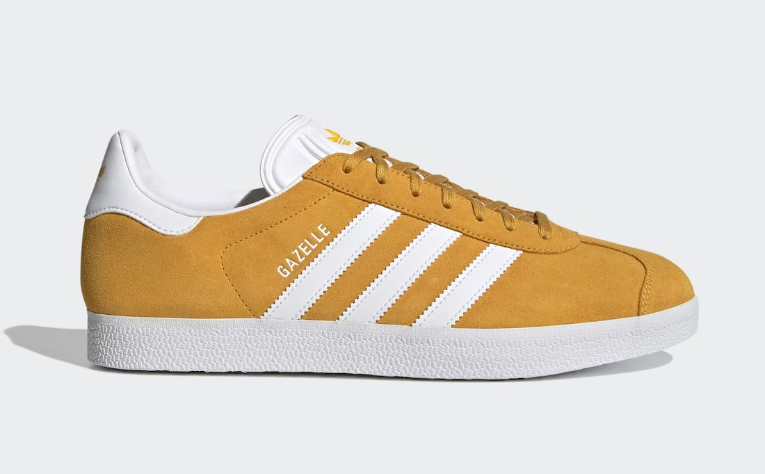 adidas Gazelle Crew Yellow FX5497 Release Date Info