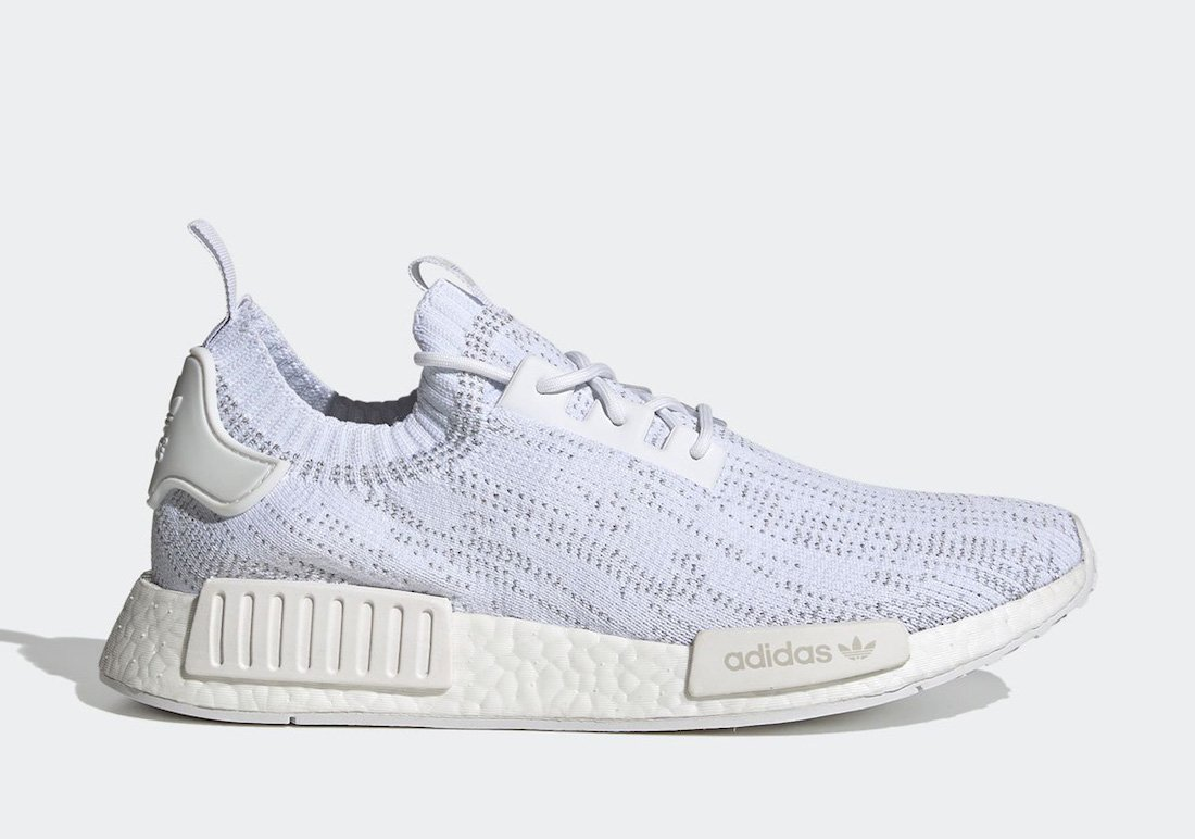 adidas NMD R1 Primeknit Cloud White FX6768 Release Date Info