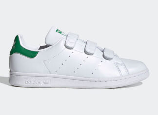 adidas Stan Smith OG Velcro White Green FX5509 Release Date Info
