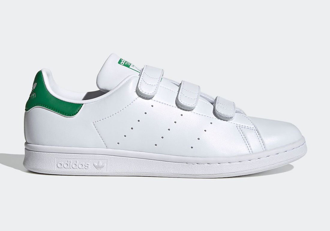adidas Stan Smith OG Velcro White Green FX5509 Release Date Info ...