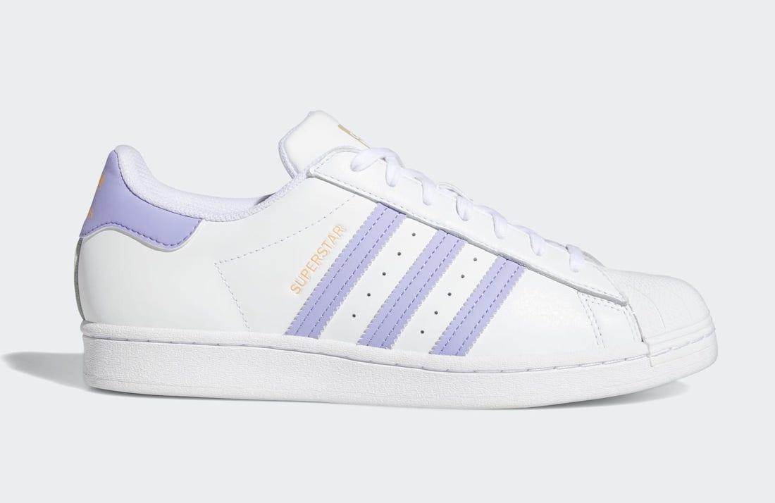 adidas Superstar Light Purple GX2538 Release Date Info | SneakerFiles