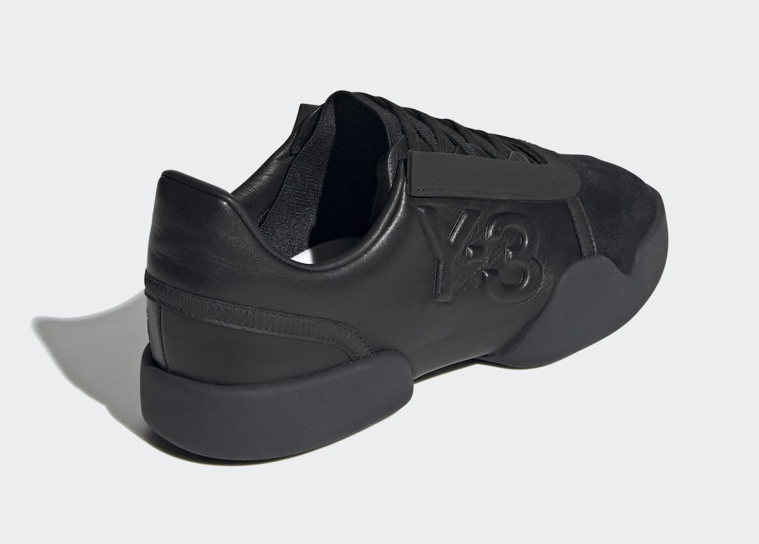 adidas Y-3 Yunu Black FZ4325 Release Date Info