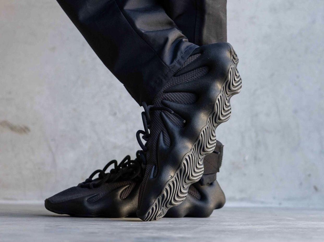 adidas Yeezy 450 Dark Slate On-Feet