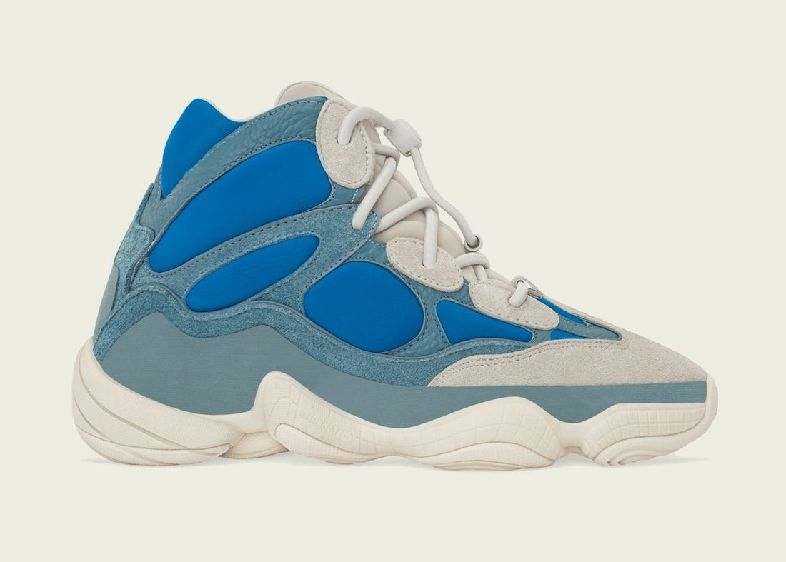 adidas Yeezy 500 High Frosted Blue Release Date Info